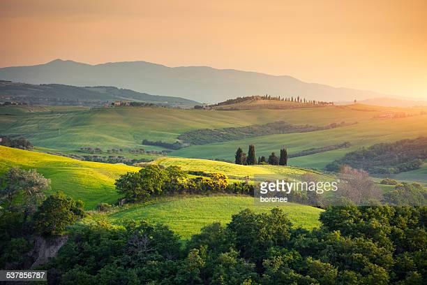 Toscana, Paesaggio collinare