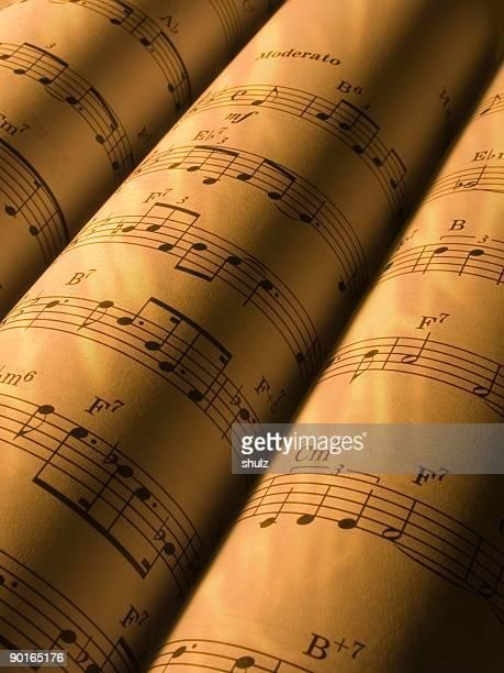 Rouleaux de papier à musique