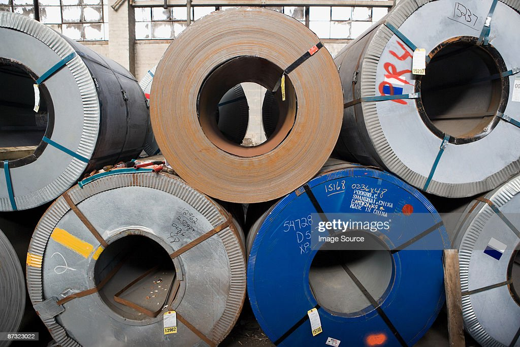 Rolls of sheet steel