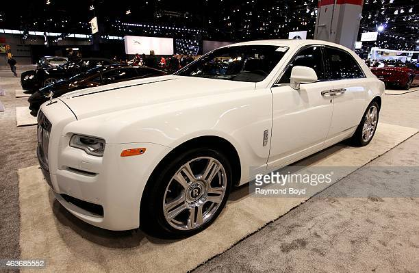 Rolls Royce Ghost Series II at the 107th Annual Chicago Auto Show at McCormick Place in Chicago Illinois on FEBRUARY 12 2015