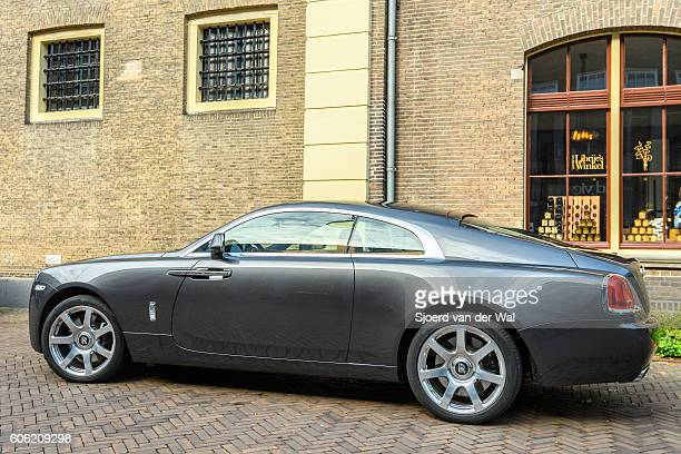Rolls Royce Wraith luxury coupe