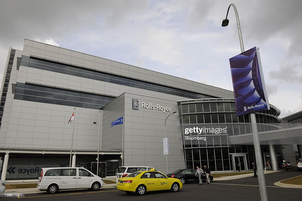 Rolls-Royce Holdings Plc's new facility stands in Singapore, on Monday, Feb. 13, 2012. Rolls-Royce plans to build 250 Trent engines a year in Singapore and raise the workforce in the city to 2,000. Photographer: Munshi Ahmed/Bloomberg via Getty Images