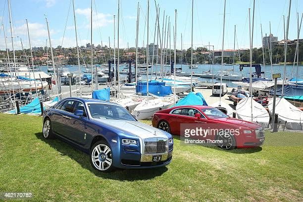RollsRoyce Motor Cars and Trivett Bespoke sponsor the 2015 Australia Day Regatta at the Royal Sydney Yacht Squadron on January 23 2015 in Sydney...