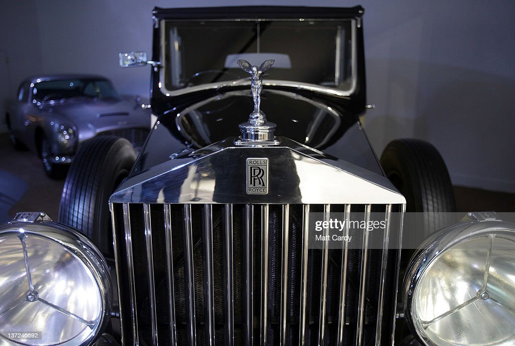Cars On View At The Bond In Motion Exhibition At Beaulieu
