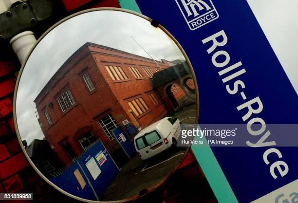 A RollsRoyce sign at a disused RollsRoyce engineering works in Derby after it was announced that the firm plans to cut up to 2000 jobs worldwide...