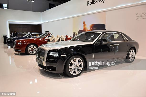 Rolls-Royce vehicles in a row