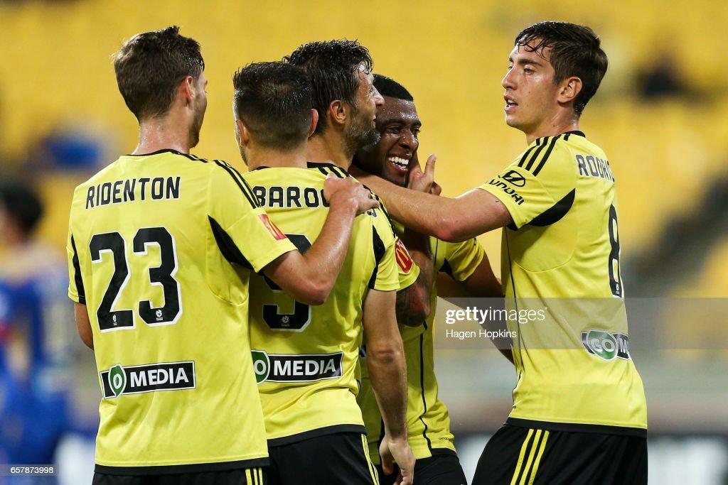A-League Rd 24 - Wellington v Newcastle
