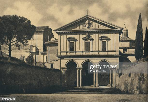 Roma Basilica of S Sebastian on the Appian Way' 1910 It is over the tomb of the titular holy martyr The Catacombs of San Sebastiano are a hypogeum...