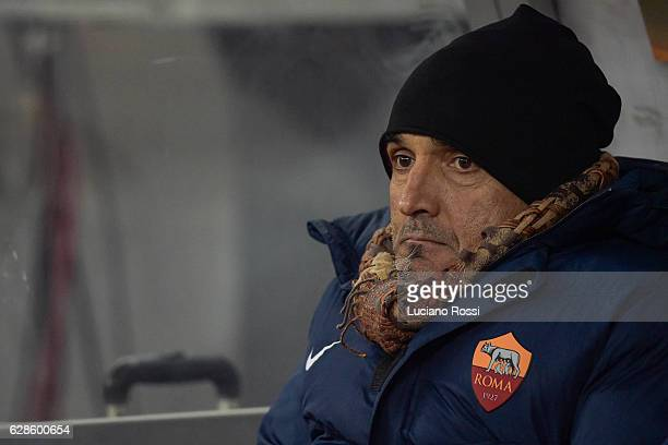 Roma coach Luciano Spalletti during the UEFA Europa League match between FC Astra Giurgiu and AS Roma at on December 8 2016 in Bucharest
