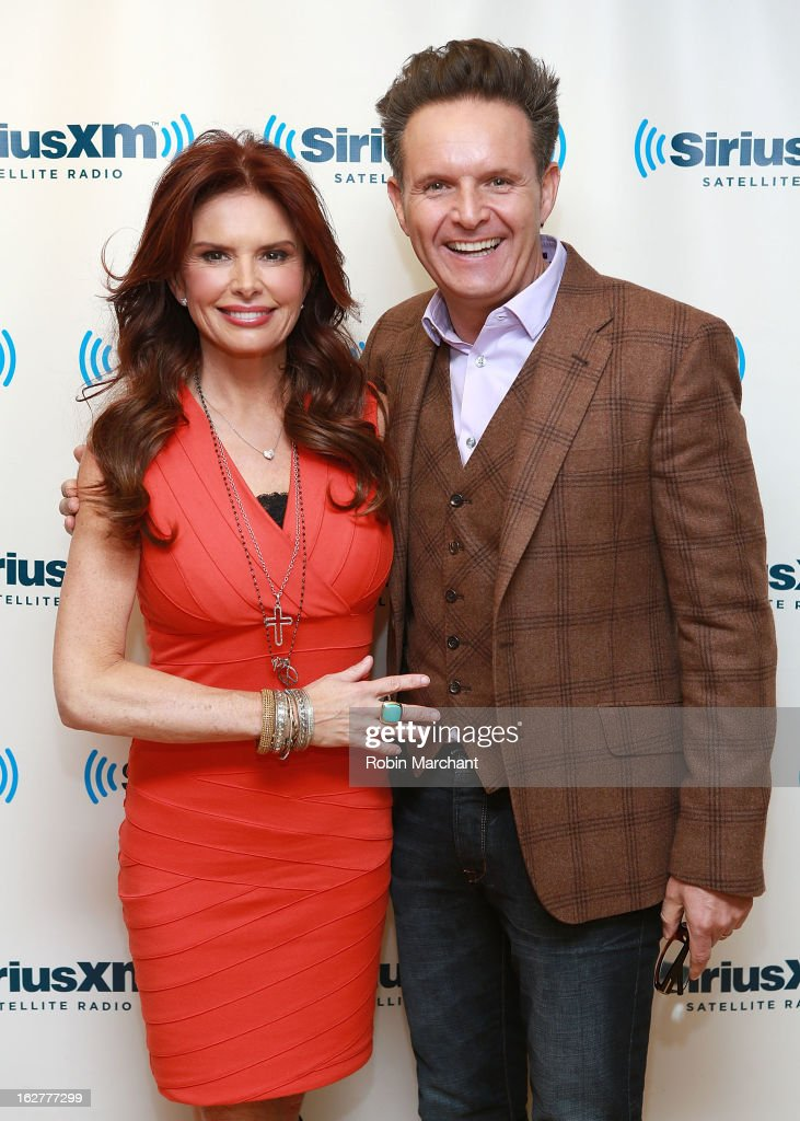 <a gi-track='captionPersonalityLinkClicked' href=/galleries/search?phrase=Roma+Downey&family=editorial&specificpeople=214162 ng-click='$event.stopPropagation()'>Roma Downey</a> (L) and <a gi-track='captionPersonalityLinkClicked' href=/galleries/search?phrase=Mark+Burnett&family=editorial&specificpeople=204697 ng-click='$event.stopPropagation()'>Mark Burnett</a> visit at SiriusXM Studios on February 26, 2013 in New York City.