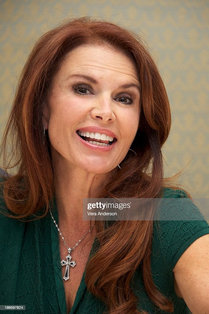 <a gi-track='captionPersonalityLinkClicked' href=/galleries/search?phrase=Roma+Downey&family=editorial&specificpeople=214162 ng-click='$event.stopPropagation()'>Roma Downey</a> at the History Channel's 'The Bible' Press Conference at the Four Seasons Hotel on October 30, 2013 in Beverly Hills, California.