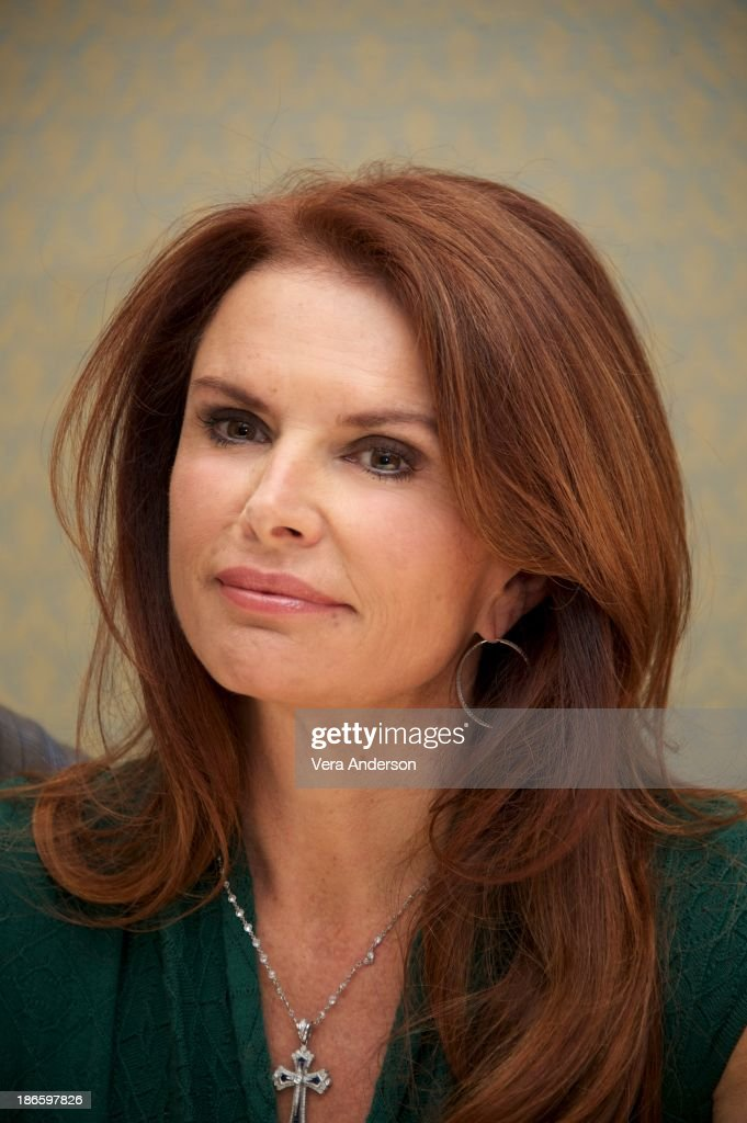 Roma Downey at the History Channel's 'The Bible' Press Conference at the Four Seasons Hotel on October 30, 2013 in Beverly Hills, California.