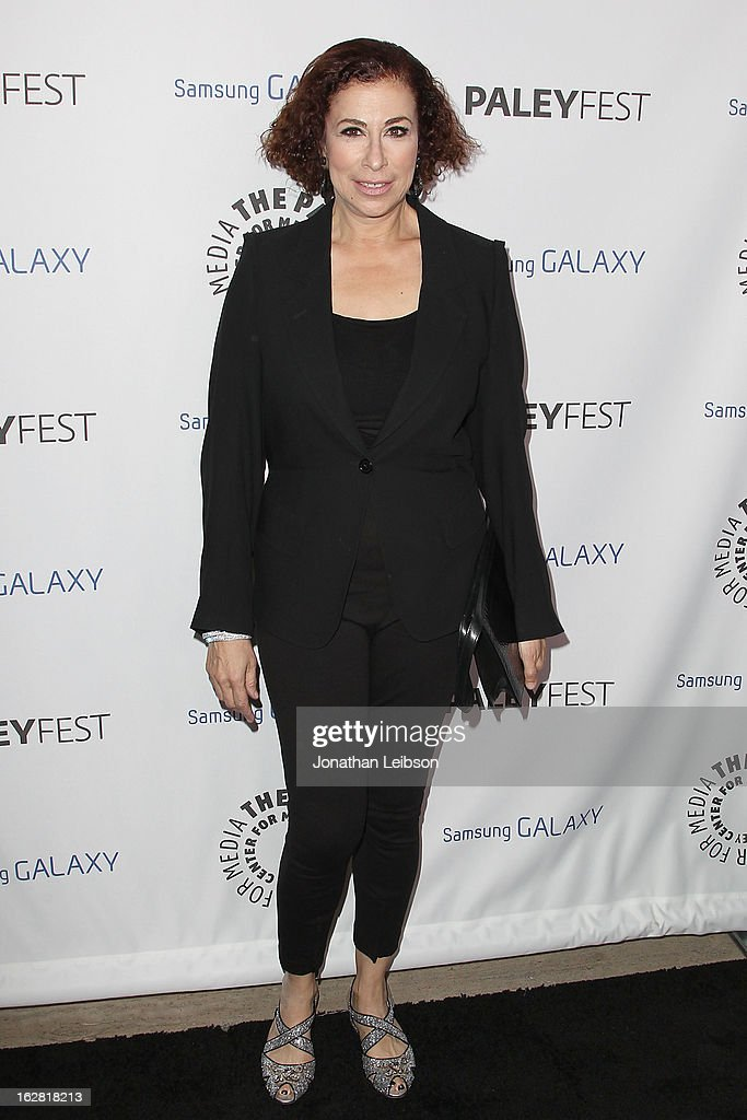 Roma Maffia arrives to The Paley Center Honors Ryan Murphy With Inaugural PaleyFest Icon Award at The Paley Center for Media on February 27, 2013 in Beverly Hills, California.