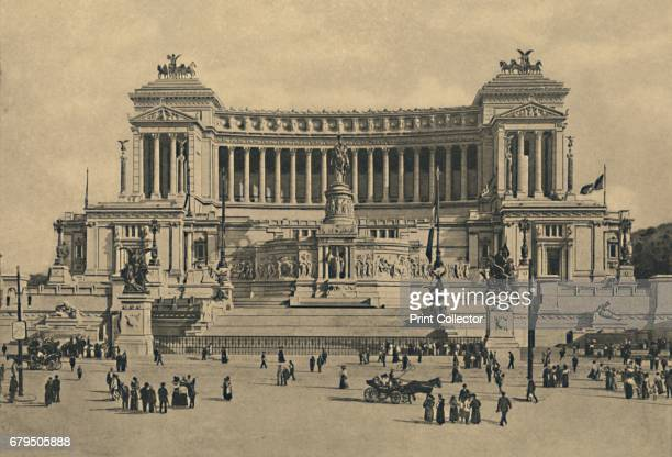 Roma Piazza di Venezia Monument to Victor Emmanuel II' 1910 Altar of Fatherland Tomb of the Unknown Soldier Mr G Sacconi laid the foundation stone in...