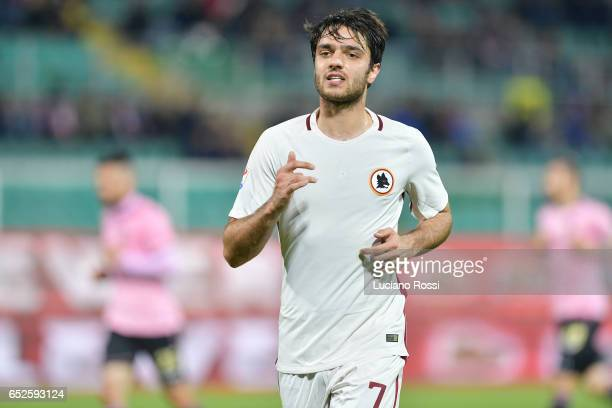 Roma player Clement Grenier during the Serie A match between US Citta di Palermo and AS Roma at Stadio Renzo Barbera on March 12 2017 in Palermo Italy