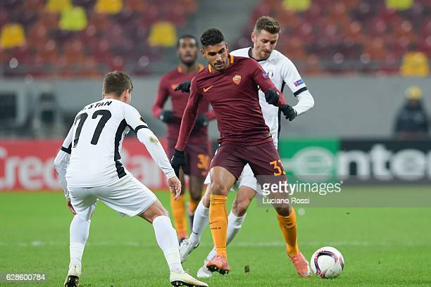 Roma player Emerson Palmieri during the UEFA Europa League match between FC Astra Giurgiu and AS Roma at on December 8 2016 in Bucharest