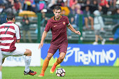 Roma player Kevin Strootman during a friendly match between AS Roma and AC Pinzolo Campiglio on July 13 2016 in Pinzolo near Trento Italy