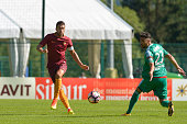 Roma player Kevin Strootman during a friendly match betwen AS Roma and Terez Grozny on July 17 2016 in Pinzolo near Trento Italy
