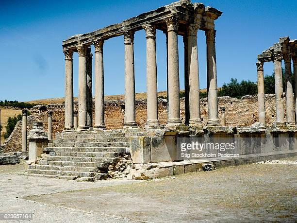Roma Site in Tunisia