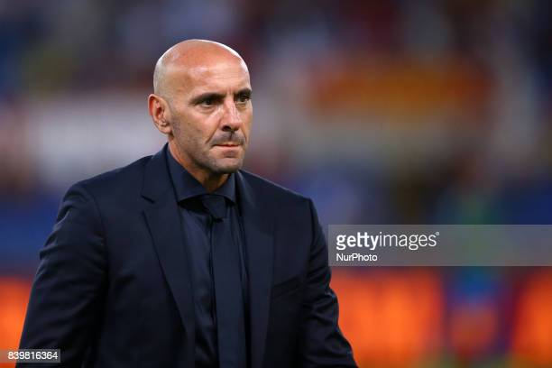 AS Roma Sport Director Ramon Rodriguez Verdejo commonly known as Monchi during the Serie A match between AS Roma and FC Internazionale on August 26...