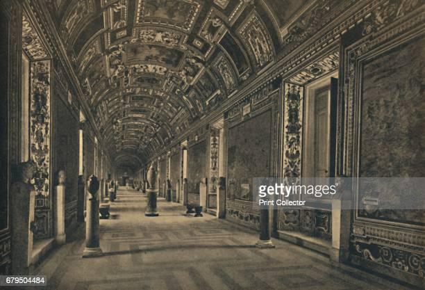 Roma Vatican Palace Gallery of Geographical Maps' 1910 Drawn by the Dominican Father I Danti for pope Gregory XIII From Cento Vedute Classiche di...