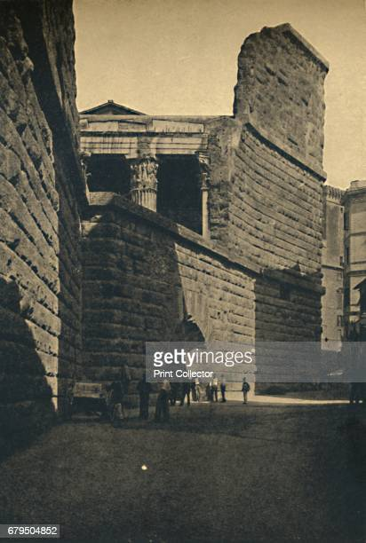 Roma Wall of the Forum of Augustus' 1910 The Forum of Augustus is one of the Imperial forums of Rome Italy built by Augustus It includes the Temple...