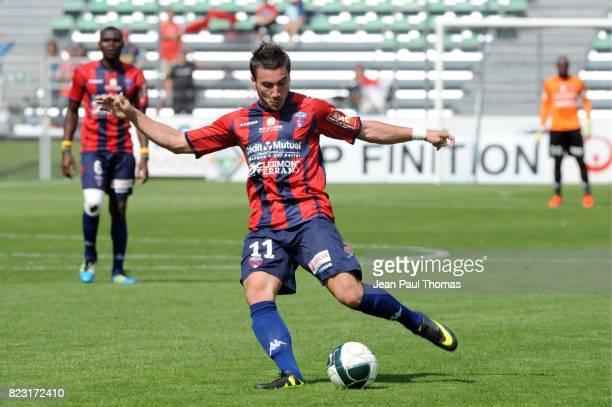 Romain ALESSANDRINI Clermont / Chateauroux 6eme journee de Ligue 2
