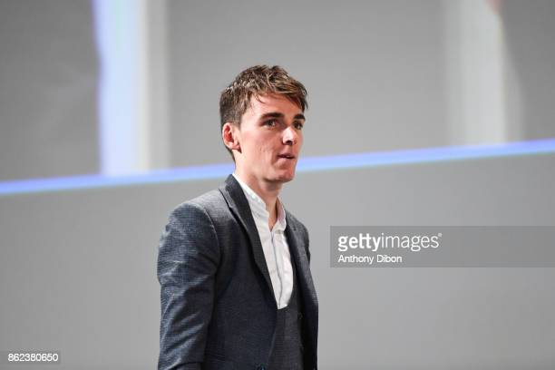 Romain Bardet during the presentation of the Tour de France 2018 at Palais des Congres on October 17 2017 in Paris France