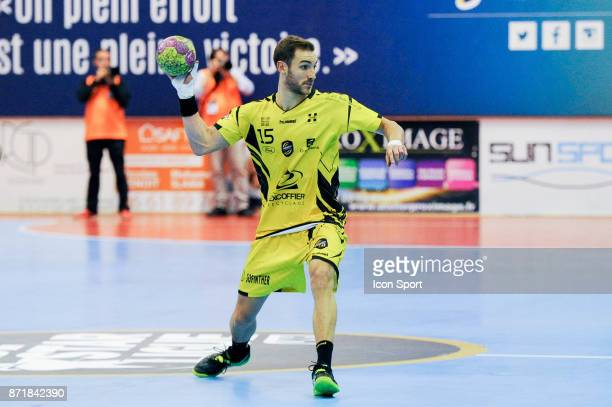 Romain Briffe of Chambery during the Lidl Starligue match between Massy and Chambery on November 8 2017 in Massy France