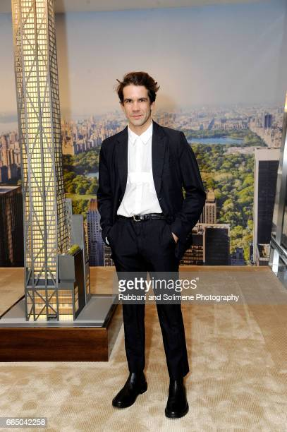 Romain Dauriac attends the Singular Object Art Opening Cocktail Reception at 53W53 Gallery on April 5 2017 in New York City