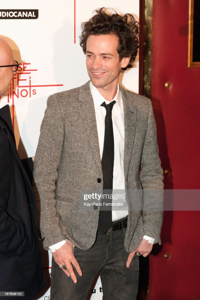 Romain Duris attends the 'Casse Tete Chinois' Paris Premiere at Le Grand Rex on November 10, 2013 in Paris, France.