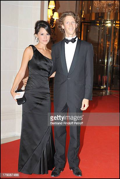 Romain Grosjean and Marion Jolles at Par Coeur Gala Hosted By Eva Longoria And Tony Parker
