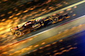 Romain Grosjean of France and Lotus drives during qualifying for the Bahrain Formula One Grand Prix at Bahrain International Circuit on April 18 2015...