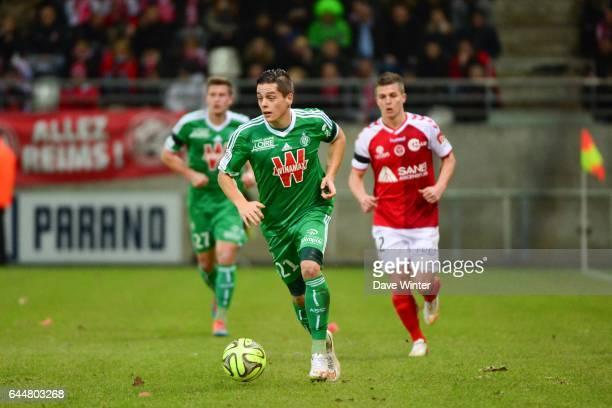 Romain HAMOUMA Reims / Saint Etienne 20eme journee de Ligue 1 Photo Dave Winter / Icon Sport