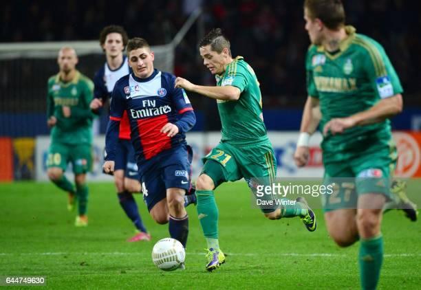 Romain HAMOUMA Paris Saint Germain / Saint Etienne 1/8Finale Coupe de la Ligue Photo Dave Winter / Icon Sport