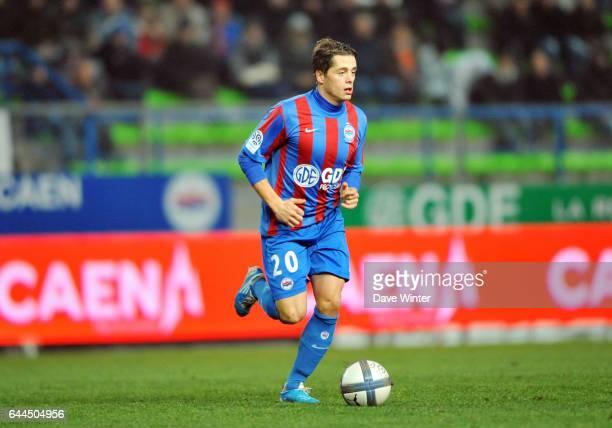 Romain HAMOUMA Caen / Sochaux Ligue 1 15e journee Photo Dave Winter / Icon Sport