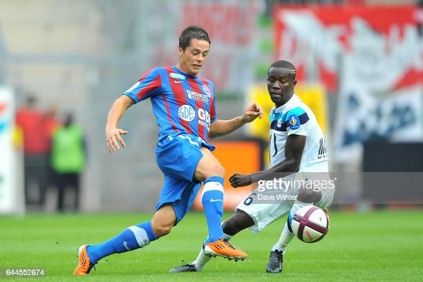 Romain HAMOUMA / Pape SOUARE Caen / Lille 3eme journee de Ligue 1 Photo Dave Winter / Icon Sport