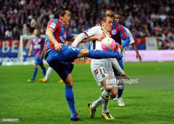 Romain HAMOUMA / Sebastien ROUDET Caen / Sochaux 37eme journee de Ligue 1 Photo Dave Winter / Icon Sport