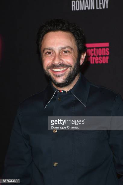Romain Levy attends the 'Gangsterdam' Paris Premiere at Le Grand Rex on March 23 2017 in Paris France