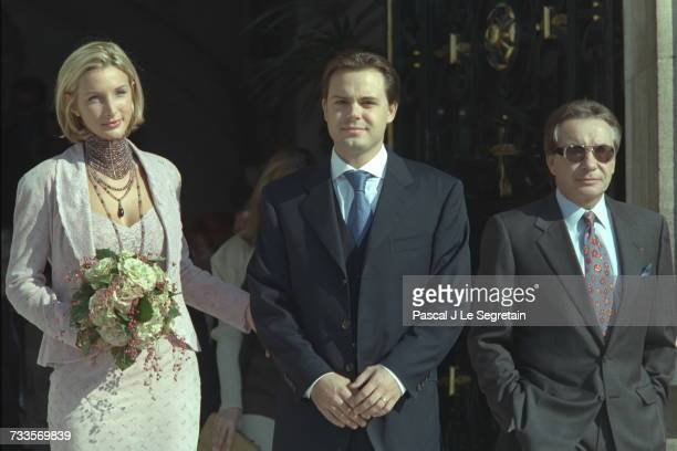 Romain Sardou's Wedding In Neuilly