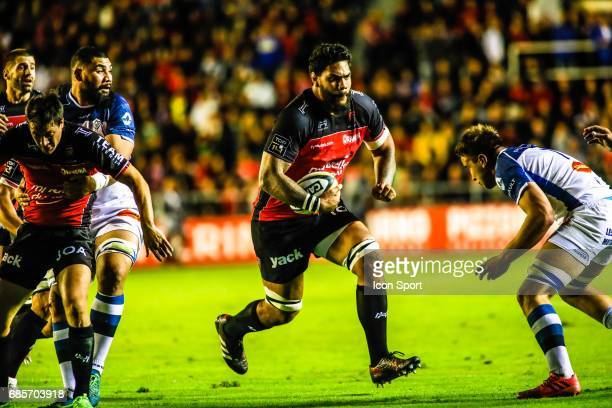 Romain Taofifenua of Toulon during the Top 14 match between RC Toulon and Castres Olympiques on May 19 2017 in Toulon France