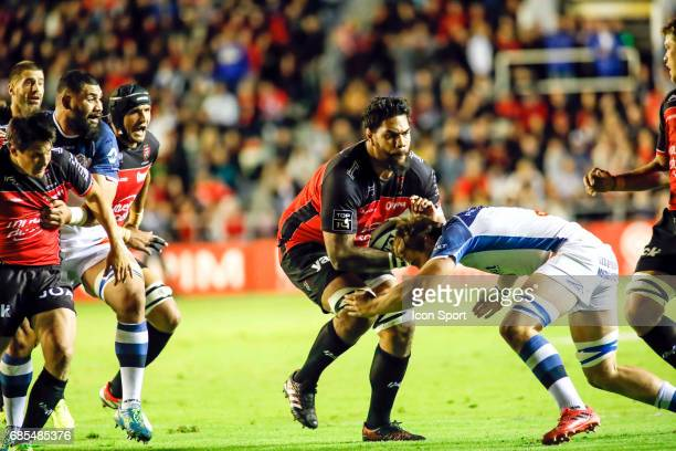 Romain Taofifenua of Toulon during the Top 14 Playoffs match between RC Toulon and Castres Olympique on May 19 2017 in Toulon France