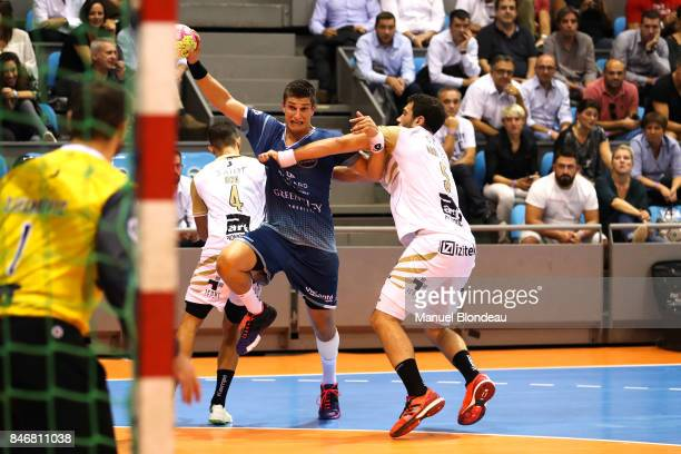Romain Ternel of Toulouse during Lidl Star Ligue match between Fenix Toulouse and Pays D'aix Universite Club on September 13 2017 in Toulouse France
