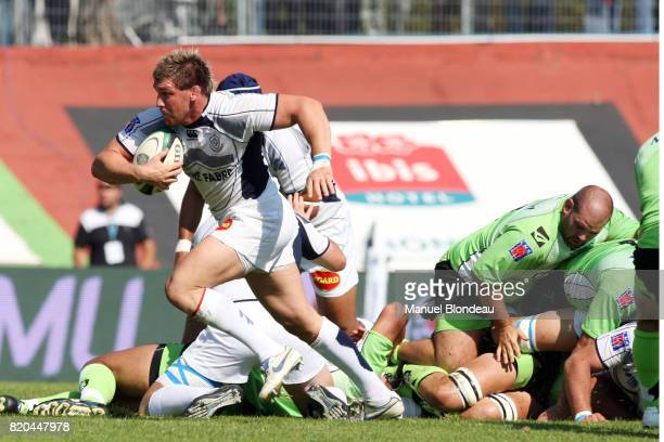 Romain TERRAIN Montauban / Castres 6eme journee de Top 14