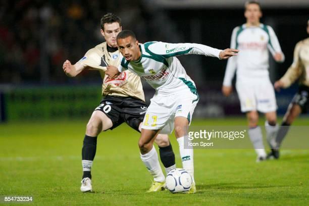 Romain VINCELOT / Aurelien CAPOUE Niort / Nantes 13eme journee de Ligue 2