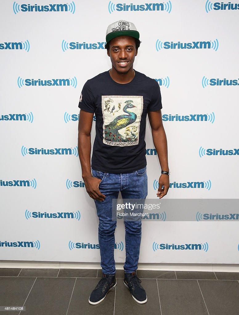 Romain Virgo visits at SiriusXM Studios on July 21, 2015 in New York City.