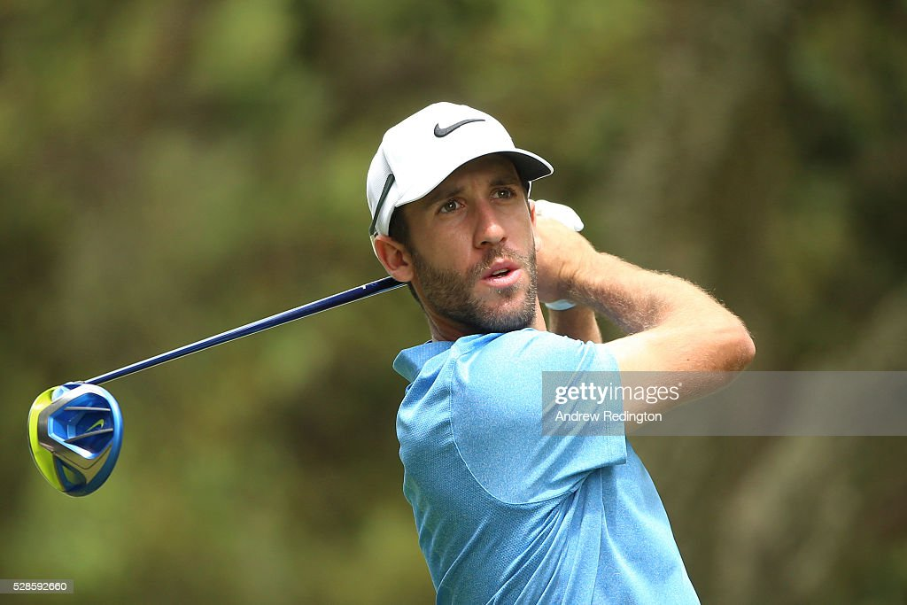 <a gi-track='captionPersonalityLinkClicked' href=/galleries/search?phrase=Romain+Wattel&family=editorial&specificpeople=5507914 ng-click='$event.stopPropagation()'>Romain Wattel</a> of France plays his tee shot on the fifth hole during the second round of the Trophee Hassan II at Royal Golf Dar Es Salam on May 6, 2016 in Rabat, Morocco.