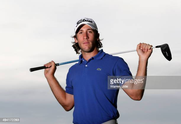 Romain Wattel of france poses for a portrait ahead of the BMW PGA Championship on the West Course at Wentworth on May 20 2014 in Virginia Water...
