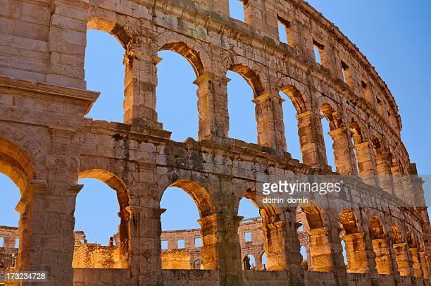Roman Amphiteater in Pula, Kroatien