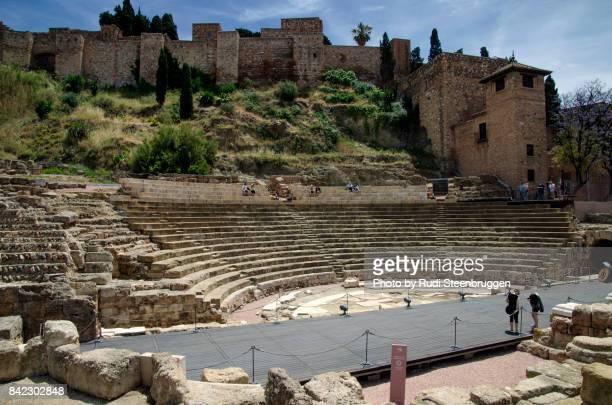 Roman amphitheatre in Malaga